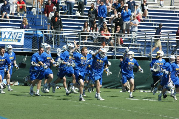 It's time to celebrate some great moments from this past college lacrosse season, including WNE's championship win against Endicott! (Photo Credit: Matt Noonan for NoontimeSports.com)