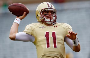 Boston College QB Chase Rettig tossed two touchdowns in the Eagles opening day victory against Villanova! (Photo Credit: Zimbo.com)