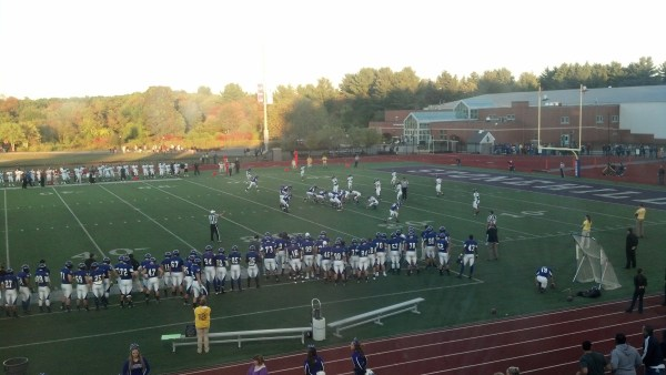 Stonehill captured their third win of the season by defeating Bentley on Saturday. (Photo Credit: Brian Willwerth for NoontimeSports.com)