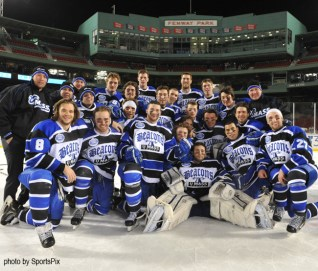 Will UMass Boston men's ice compete for a second time in program history at Frozen Fenway?  (Photo Credit: UMass Boston)