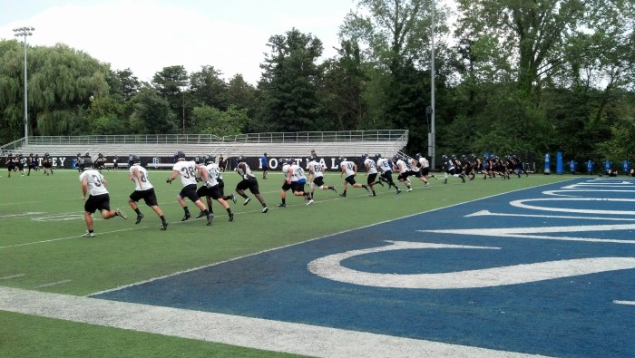 Bentley University football is roughly one week away from beginning another season. (Photo Credit: Brian Willwerth/NoontimeSports.com)