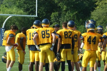 Merrimack College's football team looks to utilize experience from last year for success this season. (Photo Credit: Matt Noonan/NoontimeSports.com)