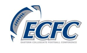 The Eastern Collegiate Football Conference (ECFC) unveiled its new logo on Monday.