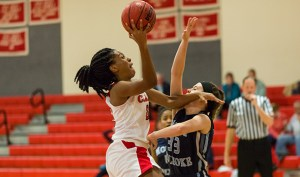Ogechi Ezemma was tabbed this week's WACBA Women's Player of the Week. (PHOTO CREDIT: Clark University Athletics)
