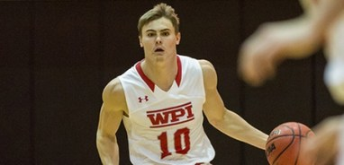 WPI's Sean Doncaster was tabbed this week's WACBA Men's Player of the Week. (PHOTO CREDIT: Frank Poulin/WPI Athletics)