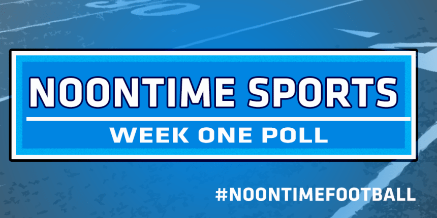 Noontime Poll Week One
