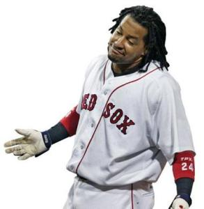Do you think Manny enjoyed the playoffs?