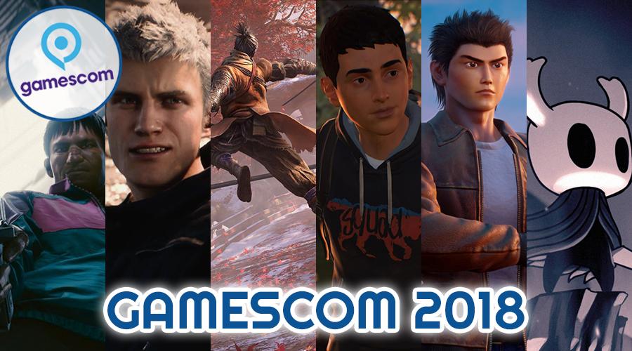 Dossier Gamescom 2018