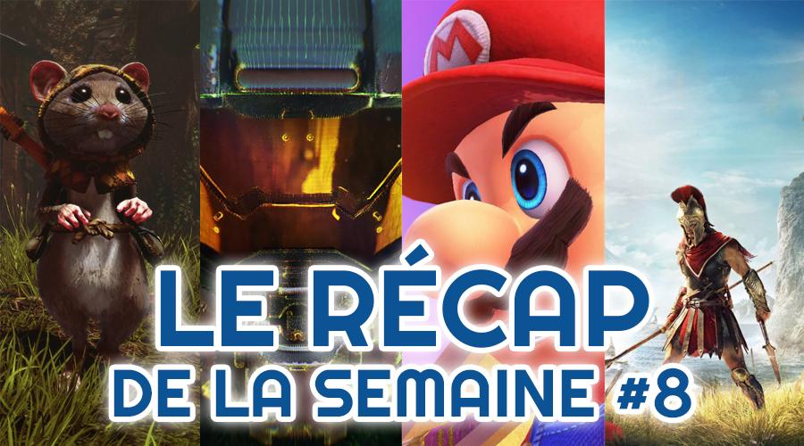 Le récap de la semaine #8 : Ghost Of A Tale, Xbox Project Scarlet, Nintendo x Xbox, Google Yeti