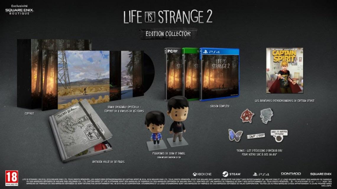 Life is Strange 2 arrive en boîte