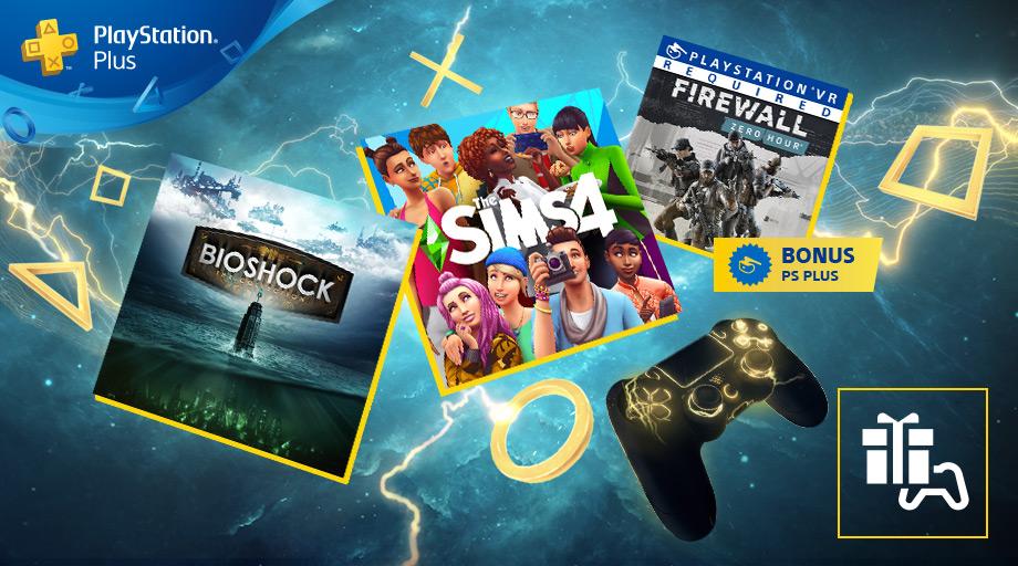 Les jeux PS Plus février 2020