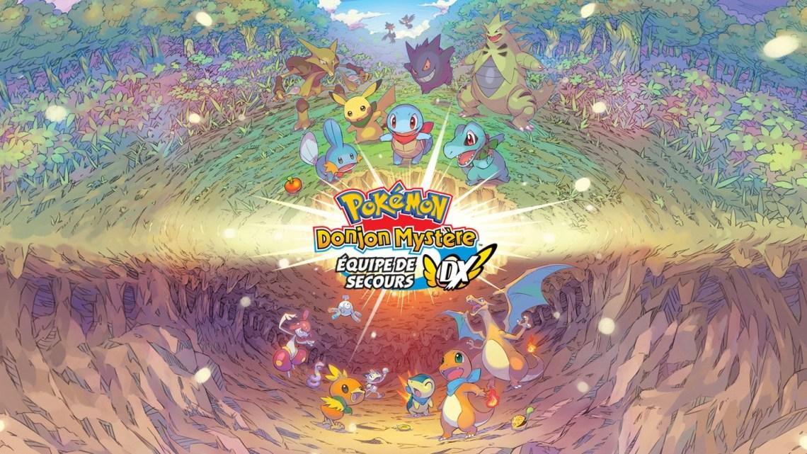 Pokémon Donjon Mystère de retour