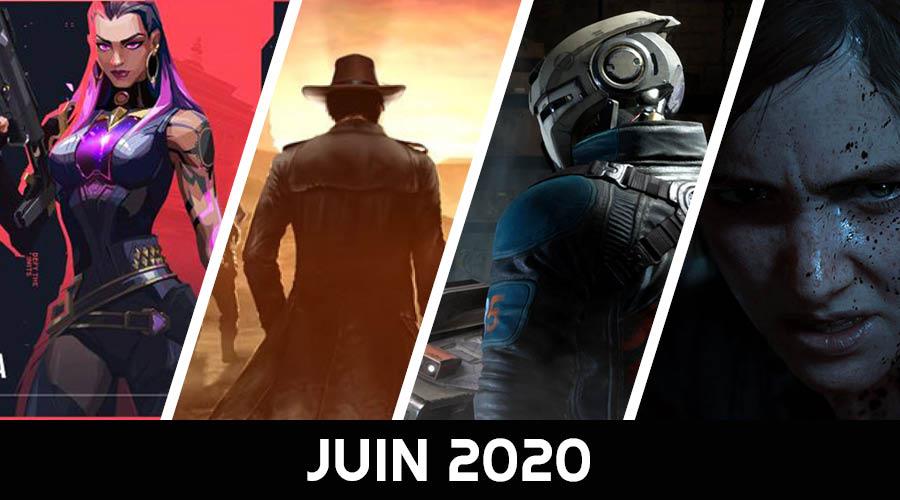 calendrier des sorties juin 2020