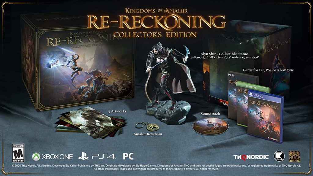 Les Royaumes d'Amalur : Re-Reckoning Collector