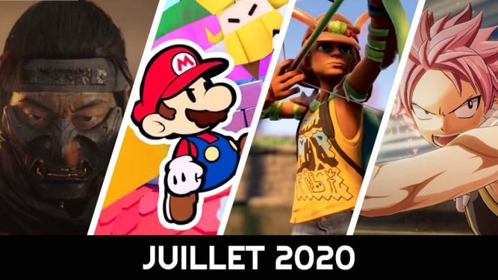 Le calendrier des sorties : Juillet 2020