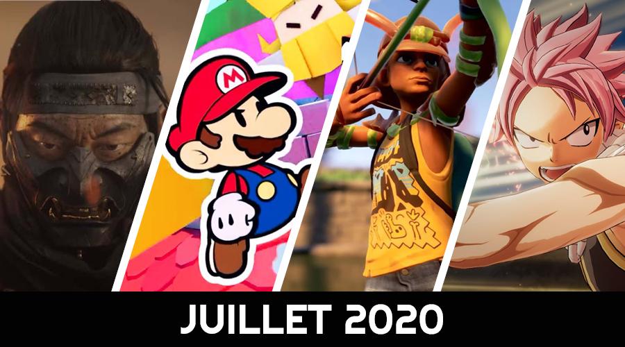 calendrier des sorties juillet 2020