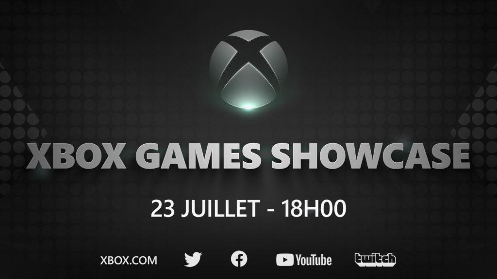Le Xbox Games Showcase aura lieu le 23 juillet 2020