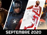calendrier des sorties septembre 2020