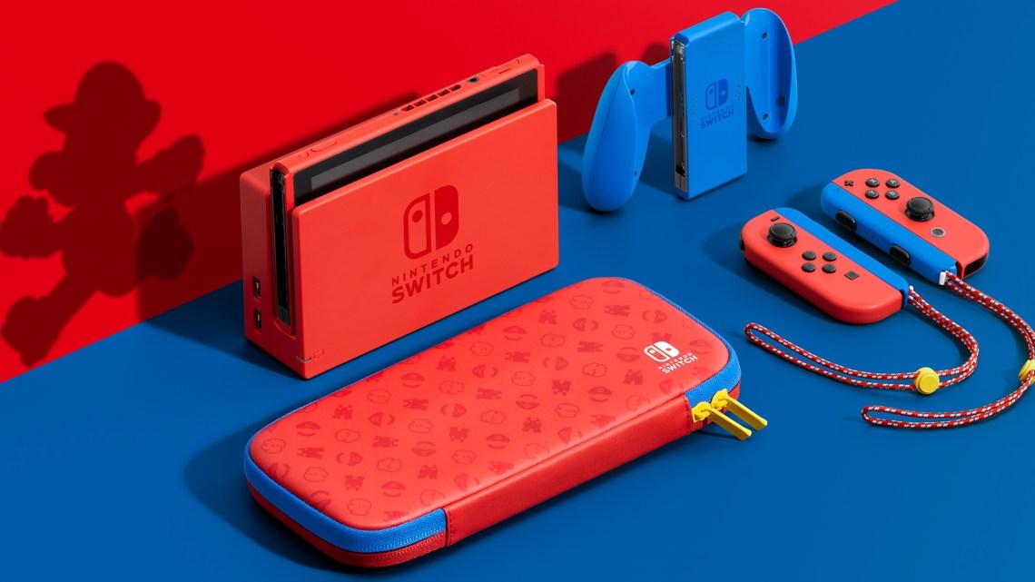 La Nintendo Switch s'offre une édition Mario