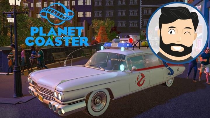 """Le mini-avis de Noopinho : Planet Coaster """"Ghostbusters"""", plus il y a de slime plus on rit"""
