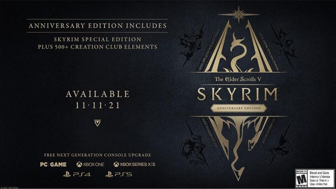 Skyrim va revenir dans une énième version
