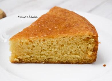 eggless vanilla cake 3