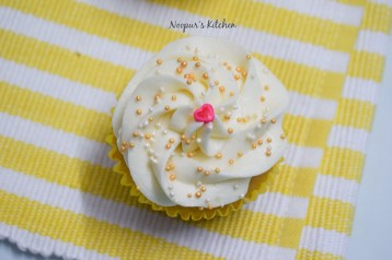 Vanilla Cupcakes with Ermine Frosting