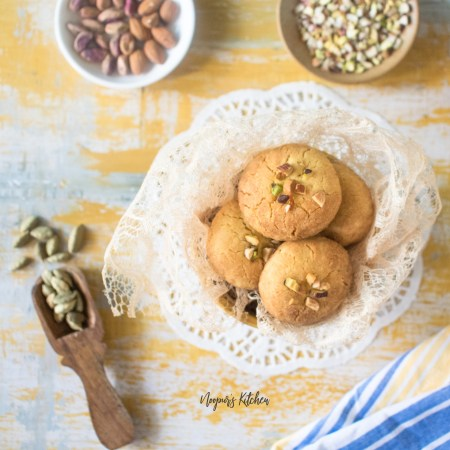 nankhatai shortbread biscuit cookies
