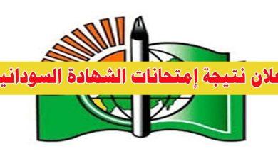 نتيجة الشهادة السودانية 2021 موقع وزارة التربية والتعليم