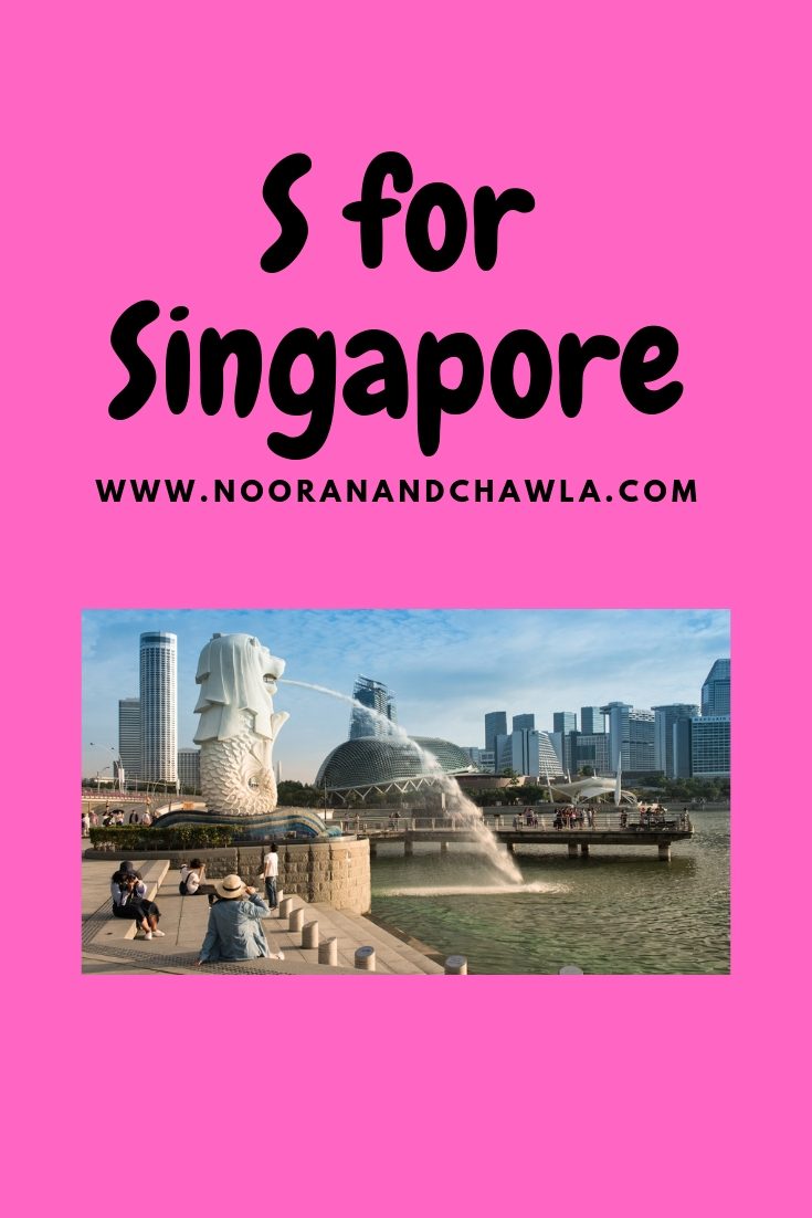 S for Singapore
