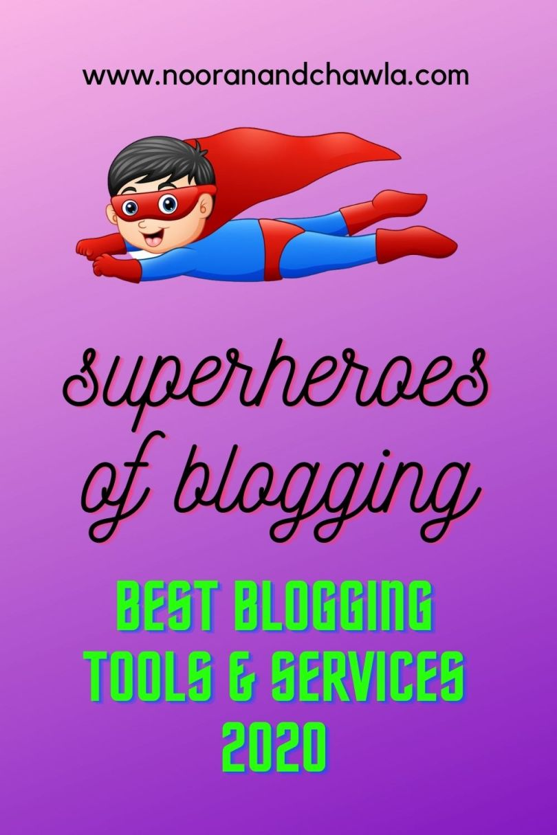 superheroes of blogging