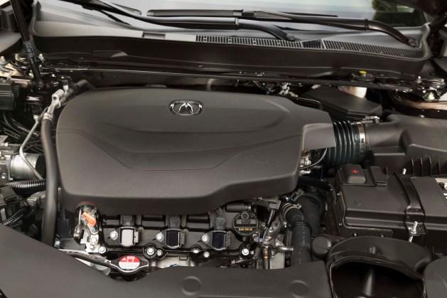 2018 Acura TLX engine