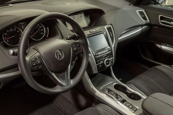 2018 Acura TLX technology