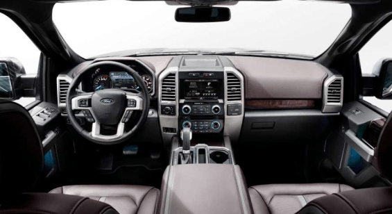 2018 Ford Bronco Interior