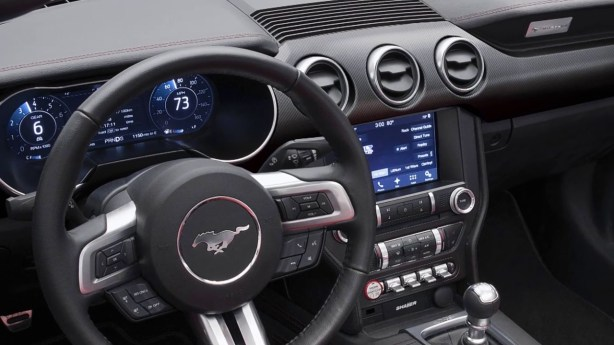 2018 Ford Mustang technology