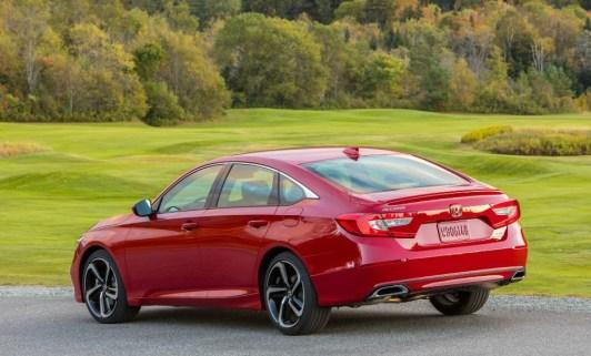 2018 Honda Accord Sport Specifications