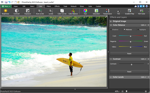 NCH PhotoPad Image Editor Pro 7.50 Crack + License Key Download