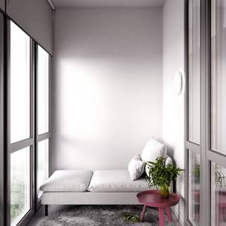 Apartment Interior Design Elegant Knitted Flat On Behance