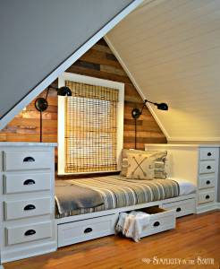 Attic Bedroom Luxury How to Make A Built In Bed Using Kitchen Cabinets