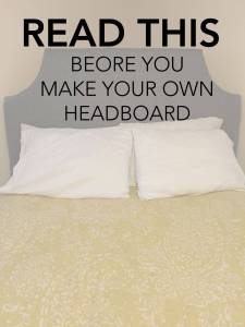 Awesome Headboards Elegant Think before You Diy Your Own Headboard