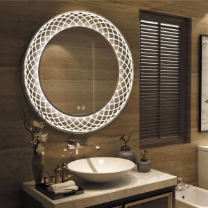 Bathroom Mirrors Lovely Frameless Wall Mounted Led Bathroom Mirror White