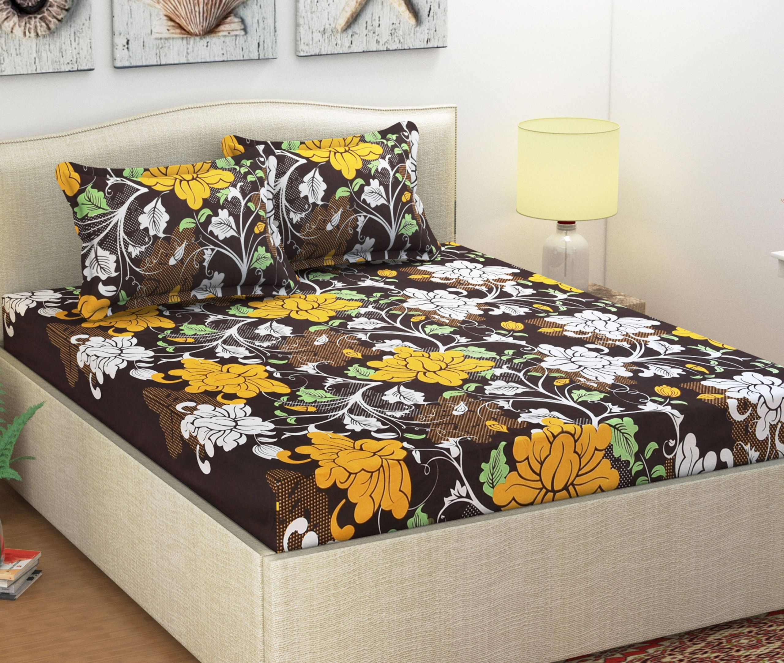 Shaphio Microfibre Double Bedsheet with SDL 1 98efd