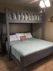 Bunk Bed Designs Beautiful Custom Bunk Bed In Twin Over King or Twin Over Queen at