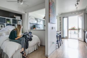 Cool Studio Apartment Luxury Every Inch Of This 550 Square Foot Studio is Well Designed
