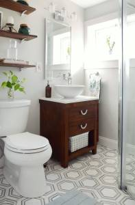 Decorating A Small Bathroom New E Room Challenge Small Bathroom Makeover Reveal