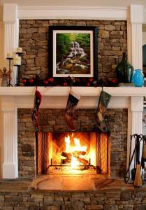 Fireplace Stone Ideas Beautiful Love the Wood Mixed with the Fireplace Adn the Slate Hearth
