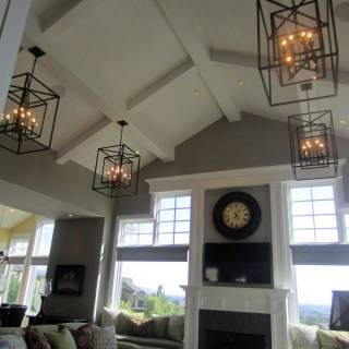 Fresh Lighting Ideas for Pitched Ceilings New 34 Best Vaulted Ceiling Living Room Lighting Ideas Images