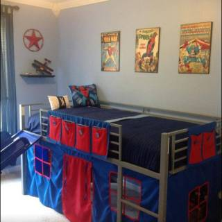 Loft Bedroom Best Of Boys Super Hero Loft Bedroom Junior Fantasy Loft Bed with