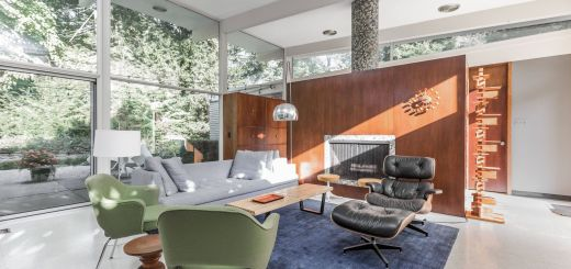 Mid-century Modern Fireplace Lovely 2 Of 10 In A Midcentury Gem by A Famed Indiana