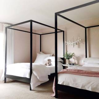 Pictures Of Canopy Beds Elegant Cabana Canopy Bed No Footboard In 2020